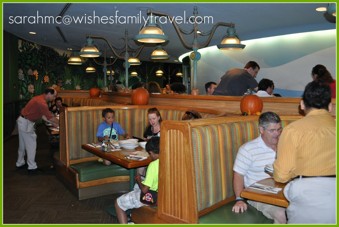 Garden Grill at Epcot - Sarah McClure, Wishes Family Travel